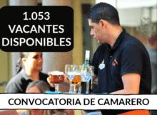 VACANTES DE EMPLEO DE CAMARERO