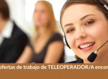 1.370 ofertas de trabajo de TELEOPERADOR/A encontradas