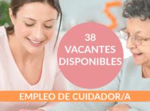 38 ofertas de trabajo de CUIDADOR encontradas