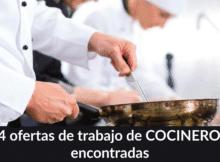 514 ofertas de trabajo de COCINERO/A encontradas