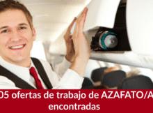 105 ofertas de trabajo de AZAFATO/A encontradas