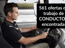 561 ofertas de trabajo de CONDUCTORencontradas