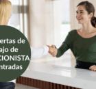 633 ofertas de trabajo de RECEPCIONISTA encontradas